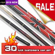 Original RILEY RHC-3 Billiard Snooker Cue 3/4 Split Cue 9.5mm High Quality Ashwood Shaft Professional Snooker with Extension(China)