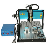 CNC6040 1500W Spindle Water Cooled Metal Engraving Machine 4 Axis 1 5KW CNC Router USB MACH3