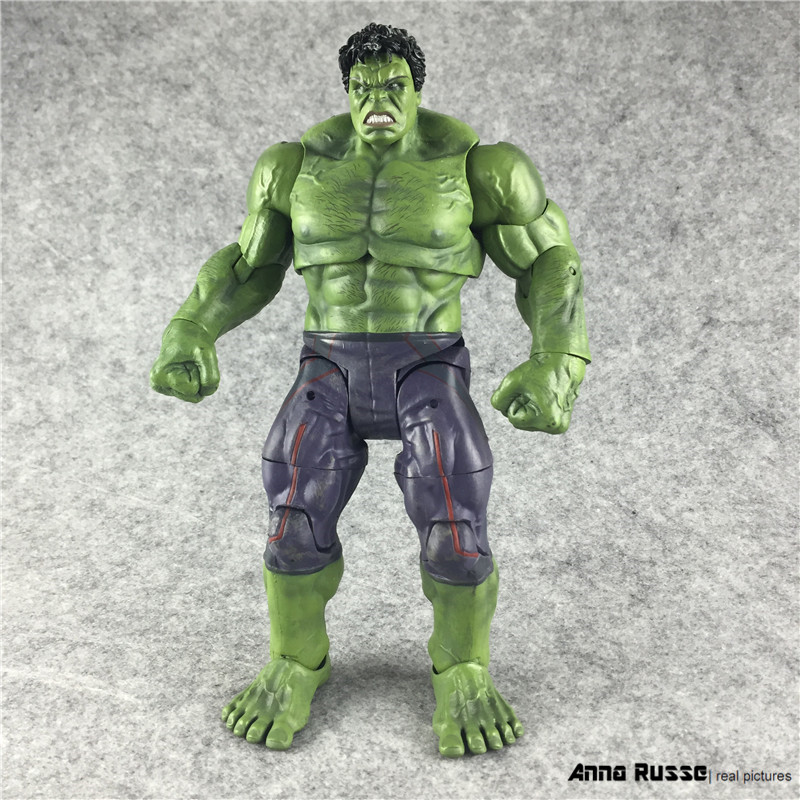 Marvel Select Avengers Hulk Brinquedos PVC Action Figure Anime Juguetes Collectible Model Doll Kids Toys 25cm avengers movie hulk pvc action figures collectible toy 1230cm retail box