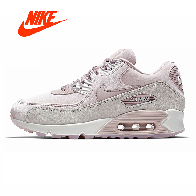 new concept 4a60e c6cb8 Original Authentic NIKE AIR MAX 90 LX Womens Running Shoes Sneakers  Designer Outdoor Jogging gym Shoes 2018 Winter Athletic