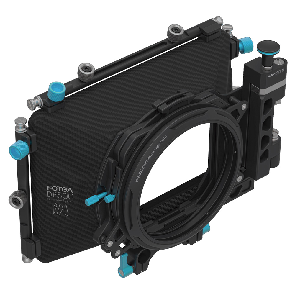 FOTGA DP500III Pro DSLR Матовая коробка Зонт с пончики фильтра держатели для A7 II A7RII A7S II bmpcc 5diii 15 мм стержень установка - 2