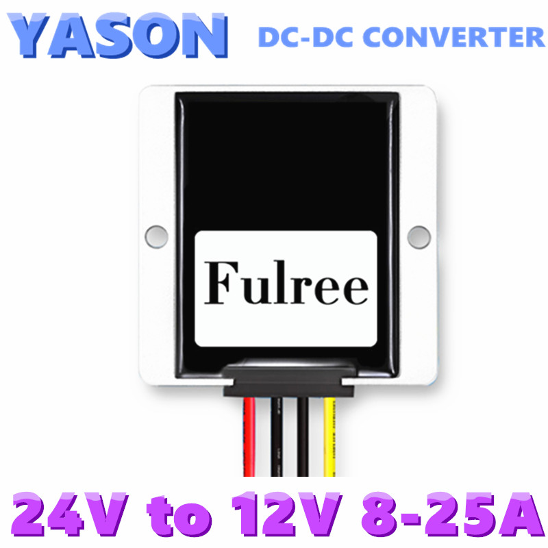 DC-DC converter DC(17-35V)to DC12V 8A 10A 15A 20A 25A 96W 120W 180W 240W 300W