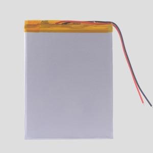 Литий-ионный аккумулятор 357095 3,7 В, 5000 мАч, литий-ионный аккумулятор для планшетных ПК Irbis TZ49, PDA, psp, IPAQ, DVD, MID, DIY, электронная книга, внешний аккумулятор для телефона