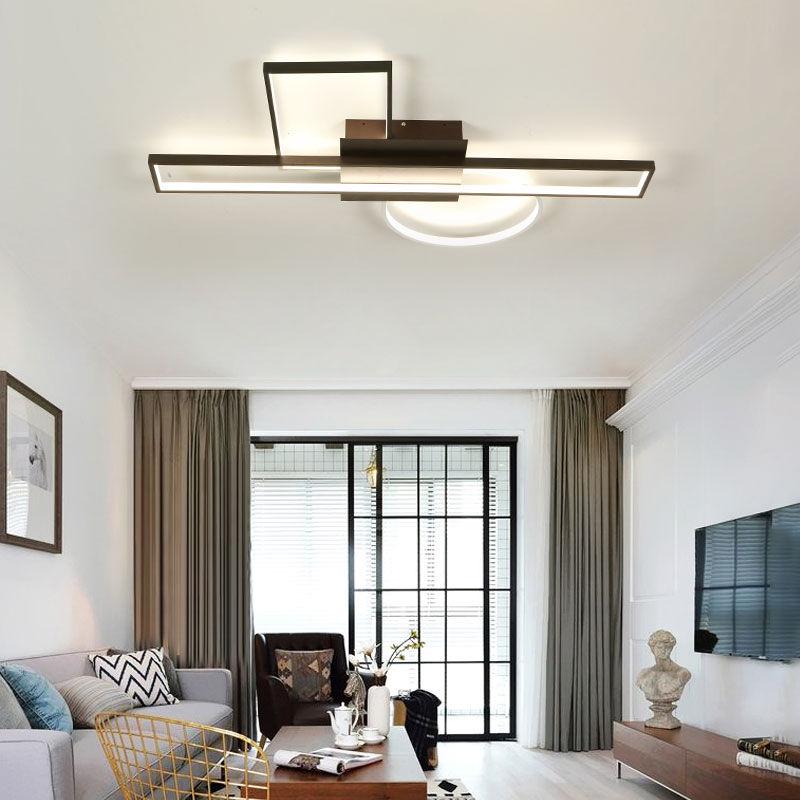 2018 new modern chandelier vintage led ceilling lights pendant fixtures living room bedroom decoration dim lusture hanging lamp