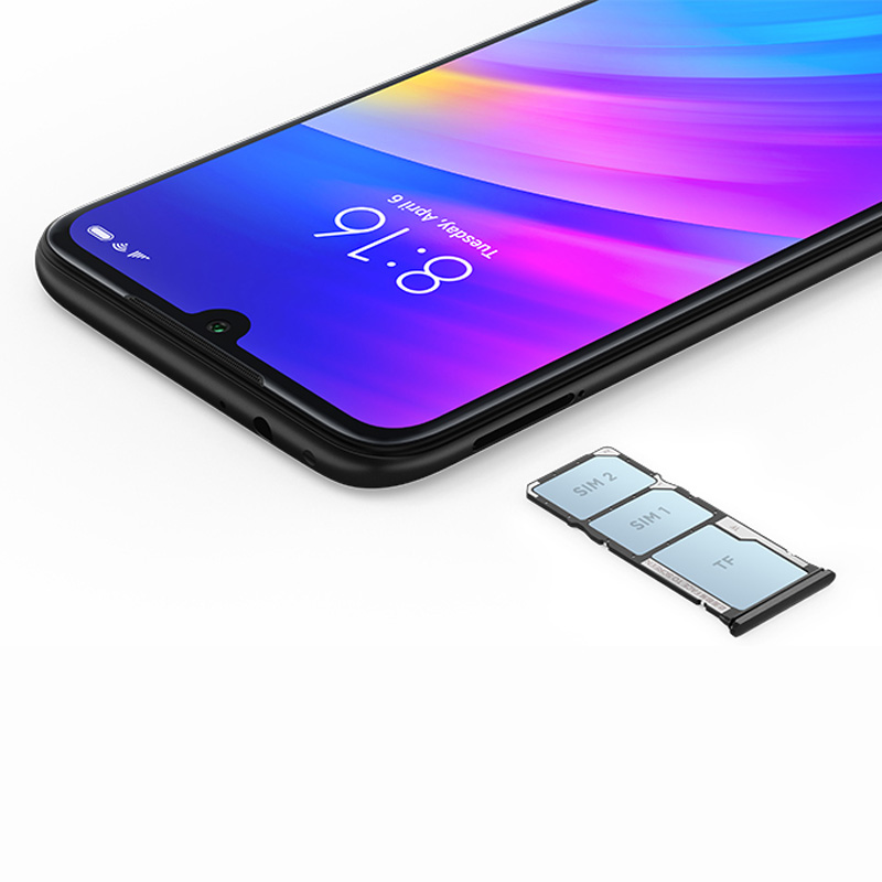 Rom globale Xiaomi Redmi 7 4 go RAM 64 go ROM Snapdragon 632 Octa Core 12MP double caméra AI téléphone portable 4000mAh grande batterie - 4