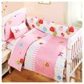 Baby bedding kit crib piece set 100% cotton bed around bed sheets crib bedding set free shipping