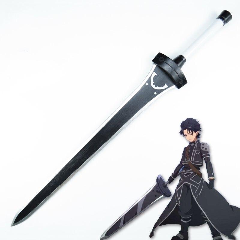 Sword Art Online Kirigaya Kazuto Cosplay Wooden Sword Stage Performance Props