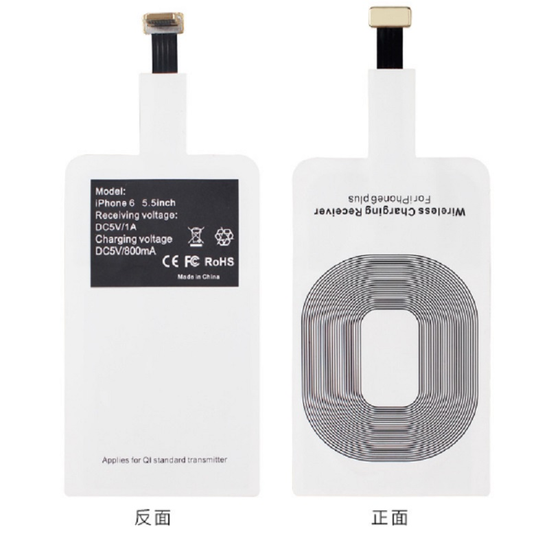 Qi Wireless Charger Adapter Adapter Bluetooth Mini Jack Oneplus 5 Usb C Adapter Kingston M 2 Pcie Adapter: Universal Qi Wireless Charger Standard Smart Charging