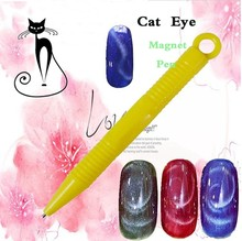 Nail Art 3D Magnet Stick Nail Art Magnet Cat Eye Kuat untuk Cat Eye Gel Varnish Tips Builder Desain manikur(China)