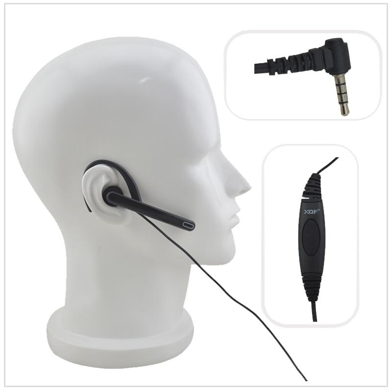 Radio Earpiece G-loop Ear Bar Boom Mic 3.5mm 1-pin Y Plug Earpiece For Vertex VX160, VX-168,VX-5R,Yaesu FT-50R, FT-60R, FT-250R
