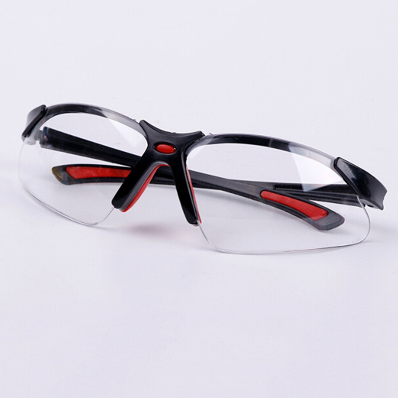 Clear Anti-impact Factory Lab Outdoor Work Eye Protective Safety Goggles Glasses Anti-dust Lightweight Spectacles