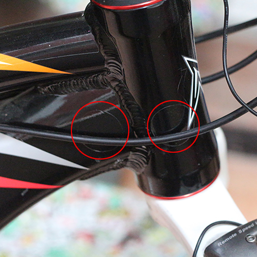 15 PCS/lot Bike Frame Rear Forks Protector Sports Bicycle Chainstay Frame Protector Kit Bike Sticker Paster Protection
