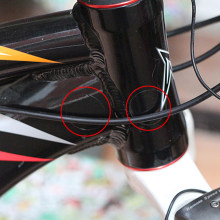 15 PCS/lot Bike Frame Rear Forks Protector Sports Bicycle Chainstay Frame Protector Kit Bike Sticker Paster Protection(China)