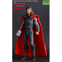 12 Inch The Avengers: Age of Ultron Superhero 1/6 Thor Odinson PVC Action Figure Collectible Model Toy Box 30 CM N009