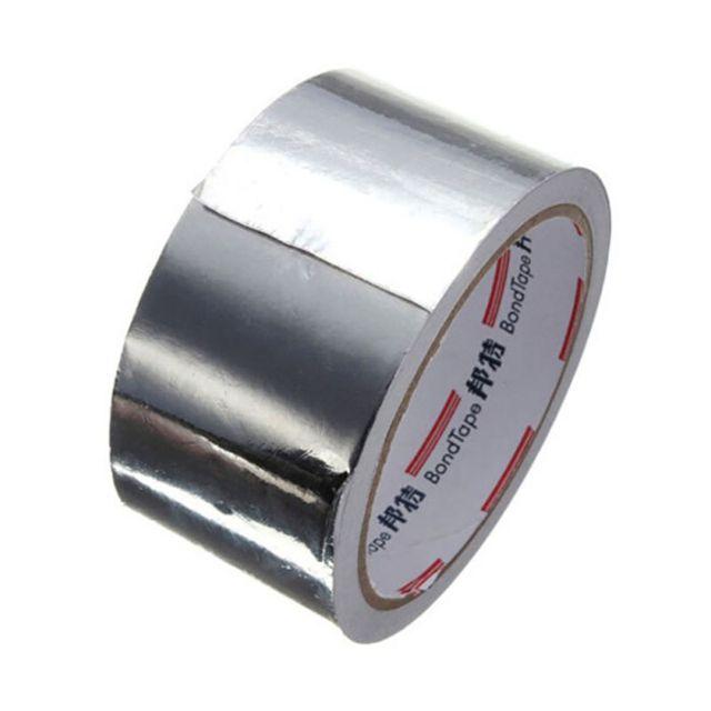 US $3 25 27% OFF|Aluminum Foam Glue Sealing tape Useful Thermal Resistant  Duct Repairs Heat resistant Foil Adhesive tape 5cm*18m-in Tape from Home
