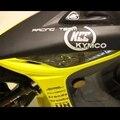 Мотоцикл Наклейки Смешно Поглощают Kcc Kymco Racing Team Светоотражающие Наклейки Наклейки