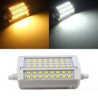 Best Promotion R7S 30W 3000LM 118mm 64 SMD5730 Warm White White LED Light Bulb 85 265V