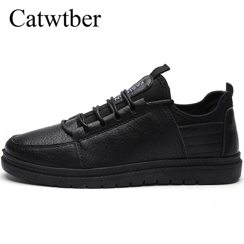 Catwtber eather Casual Shoes Men Loafers Sneakers Lace-up Mens Shoes Brand Fashion New Breathable Male Footwear Autumn Moccasins стоимость