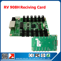2pcs a lot Linsn RV908H full color LED display receiving card max support 256*1024 pixel led sign display controller card