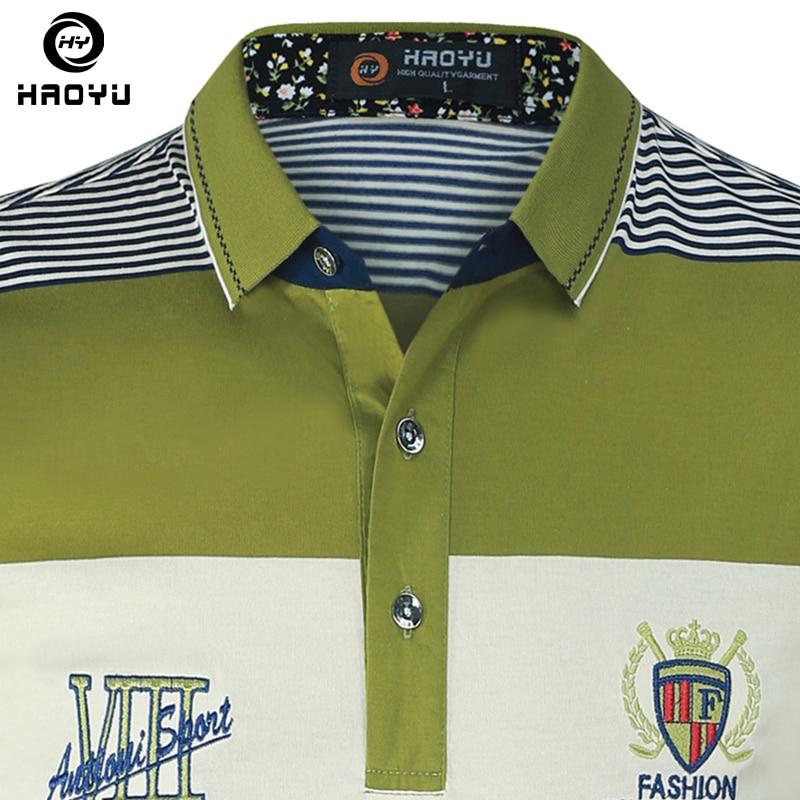 Camisa polo lühikeste varrukatega puuvill ja tähed Logo gradient - Meeste riided - Foto 5