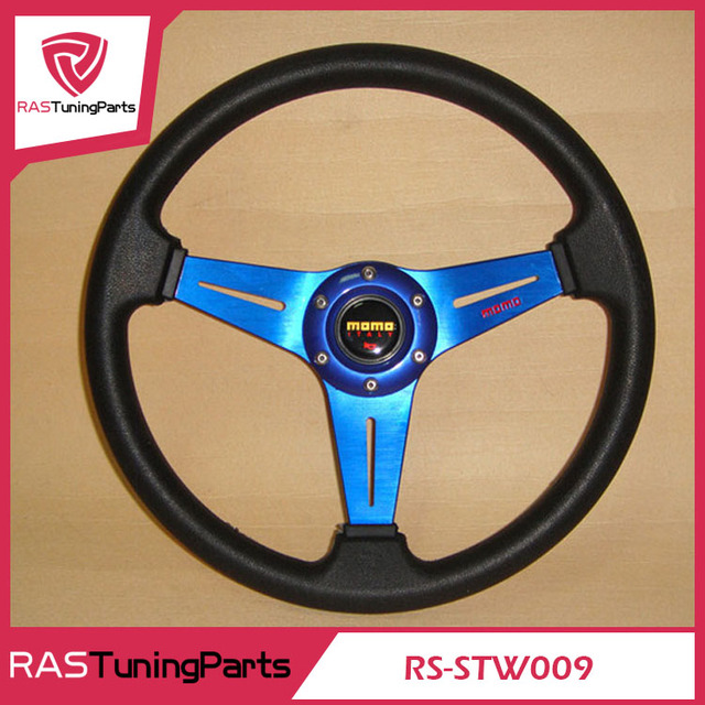 350MM 14 Inch MOMO Racing Car Modification Steering Wheel  RS-STW009