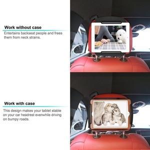 Image 3 - רכב משענת ראש ההר iPad, iPad mini, iPad אוויר, Samsung Galaxy Tab, מחזיק משענת ראש ההר עבור וידאו משענת ראש אמזון קינדל אש