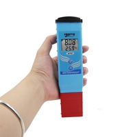 PH Test water 0.1 PH High Accuracy Water Quality Tester for Pool Aquarium with Automatic Temperature Compensation 30%off