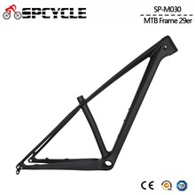 цена на Spcycle 29er Full Carbon Mountain Bike Frame T1000 Carbon MTB Bicycle Frame 2.35