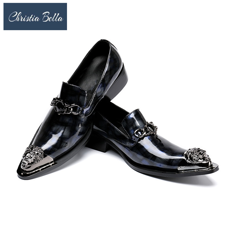 Christia Bella Masculino Patent Leather Shoes Men Luxury Dress Wedding Shoes Oxford Fashion Cocodrilo Shoes Zapatos Hombre Christia Bella Masculino Patent Leather Shoes Men Luxury Dress Wedding Shoes Oxford Fashion Cocodrilo Shoes Zapatos Hombre