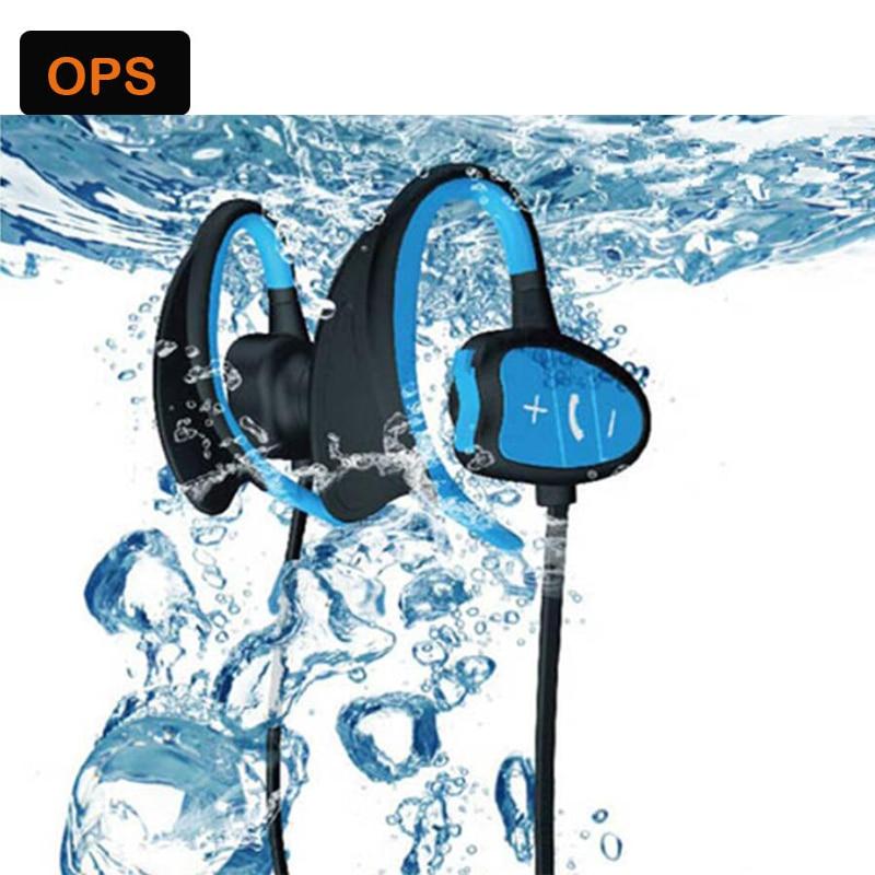 IPX8 su geçirmez Bluetooth kulaklık HD gürültü kulaklık - Taşınabilir Ses ve Görüntü - Fotoğraf 2