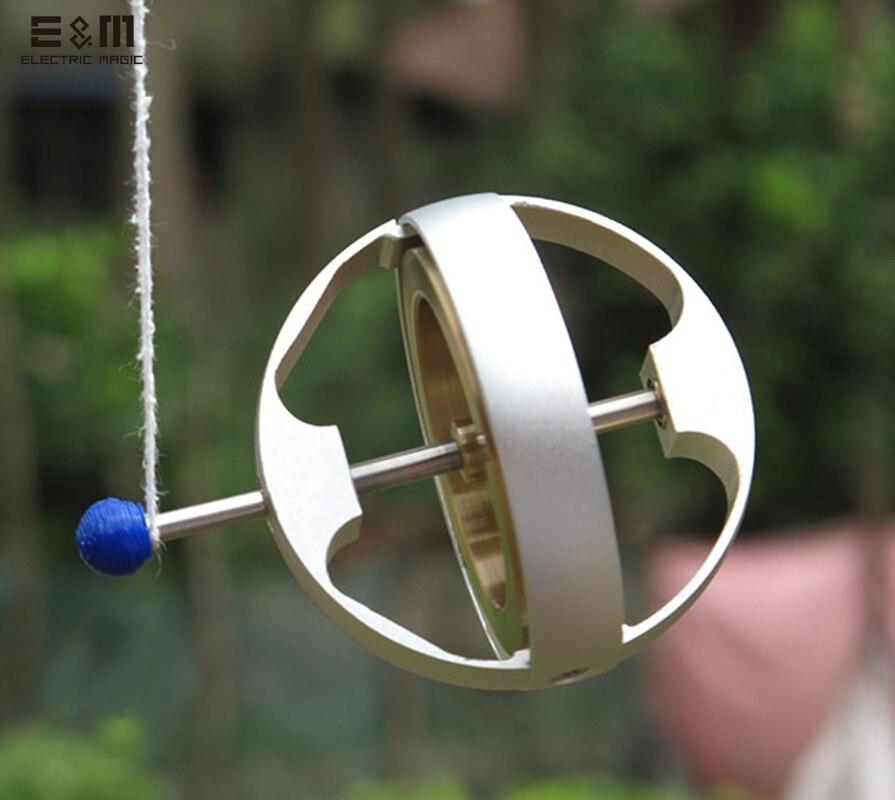 E&<font><b>M</b></font> 12000 rpm Gyroscope High Precision <font><b>Mechanics</b></font> Anti Gravity Systems Stabilizer Experimental instrument Geek Toy Classic Gift