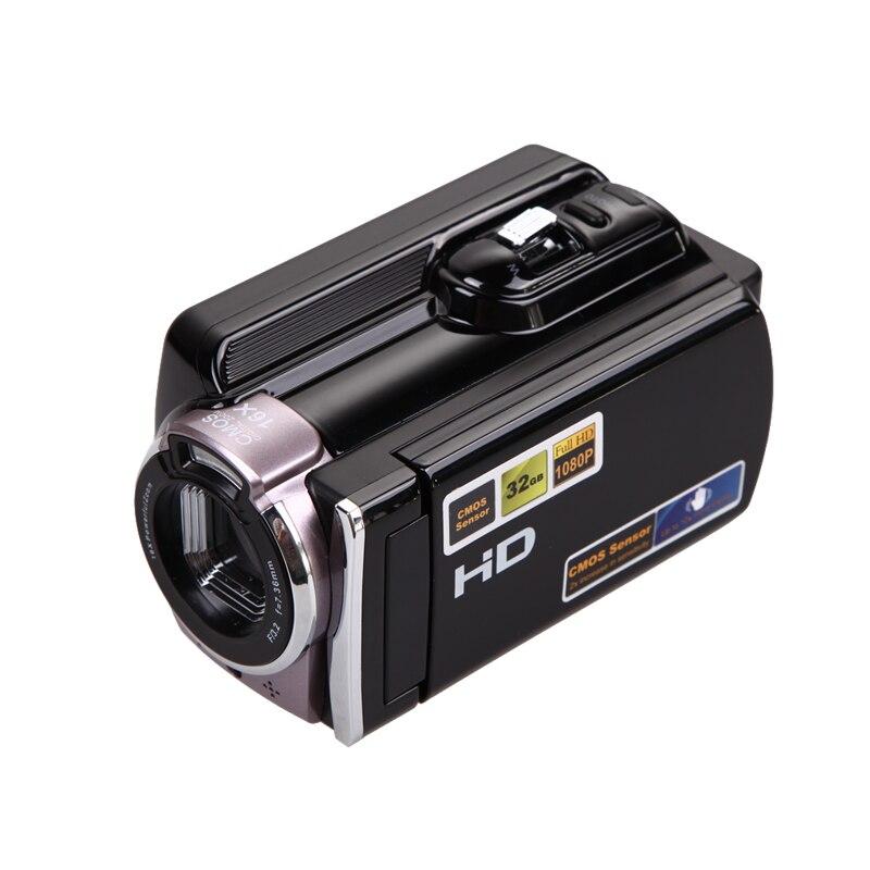 NI5L 1080P Digital Video Camcorder Full HD 16x Digital Zoom DV Camera Kit Black dv613a full hd 1080p digital video recorder camcorder 16x zoom digital dv camera kit black video camera up 16mp