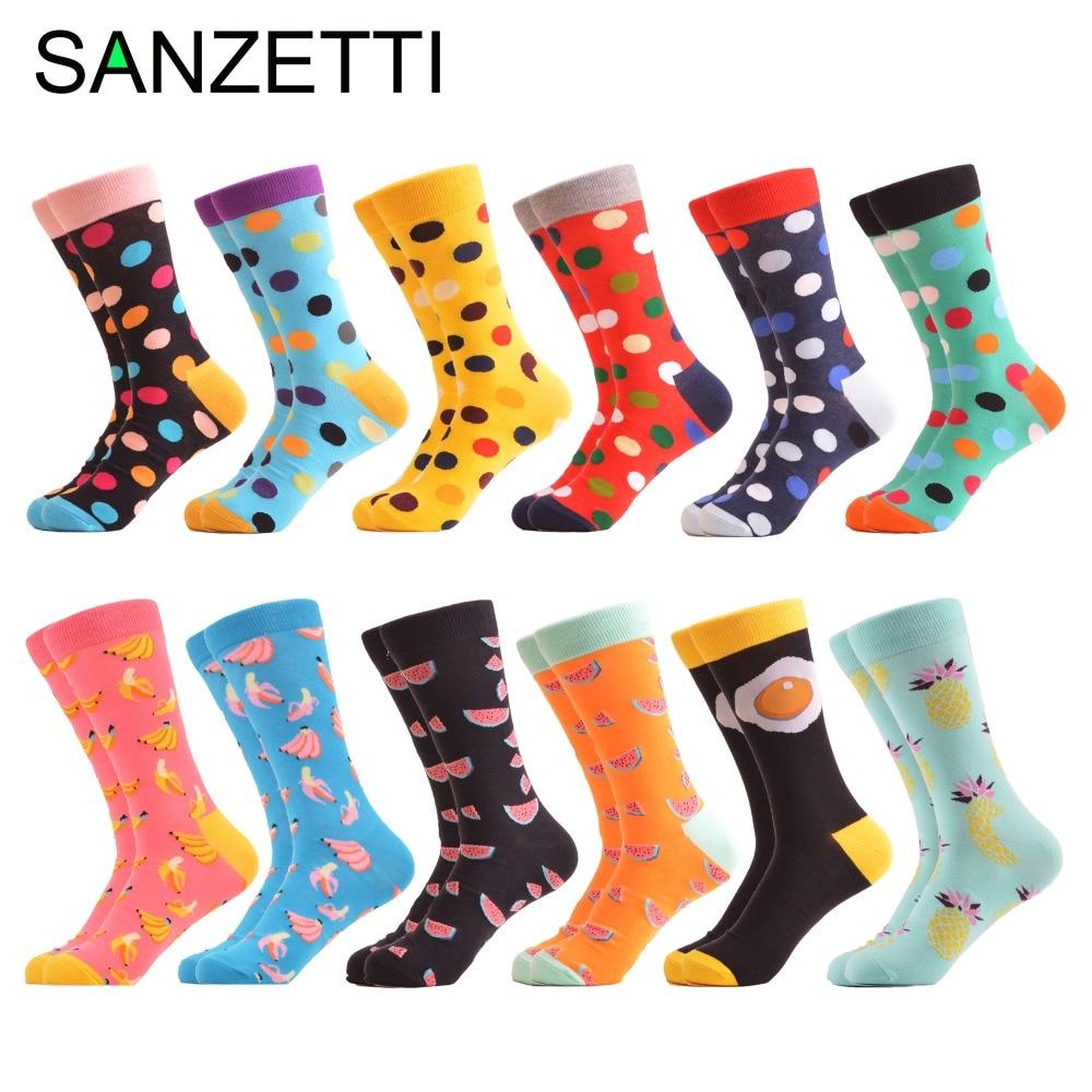 SANZETTI 12 जोड़े / लोट रंगीन - महिलाओं के कपड़े