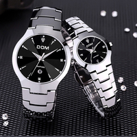 DOM 698 Men's Watches Top Brand Luxury Quartz Fashion Watch Tungsten Steel Waterproof Watch Montre Luxury Watch Casual lovers