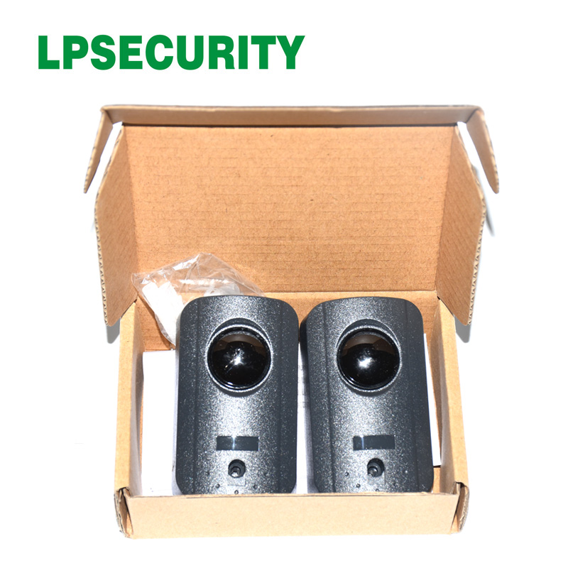 lowest price LPSECURITY Automated Barrier Gate Safe Infrared Detector Sensor  Swing  Sliding Garage Gate  Door Safety Infrared Photocells