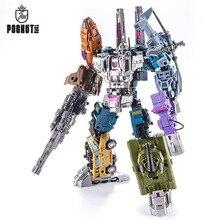 27cm transformação g1 pt05 bruticus pocket toys 5in1 figura de ação oversize robô brinquedo g1 PT 05 para coleção menino brinquedos presentes