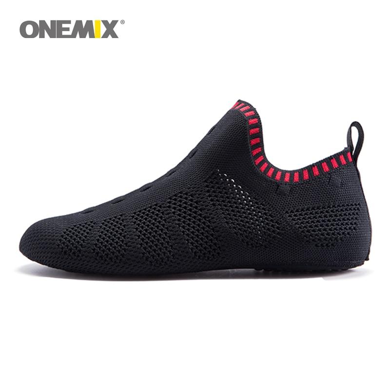 Onemix beach sandals slip-on slippers mesh friendly light cool breathable walking shoes slipper socks Indoor 1230C ecw24 1230c
