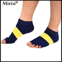Fitness Women Girl S Casual Half Toe Pilates Ankle Grip Socks Comfort 6 Color Available