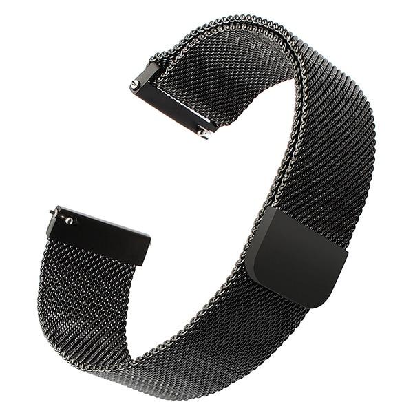 Milanese Loop Watchband 14mm 16mm 18mm 20mm 22mm 24mm Magnet Watch Band Stainless Steel Strap Quick Release Belt Wrist Bracelet