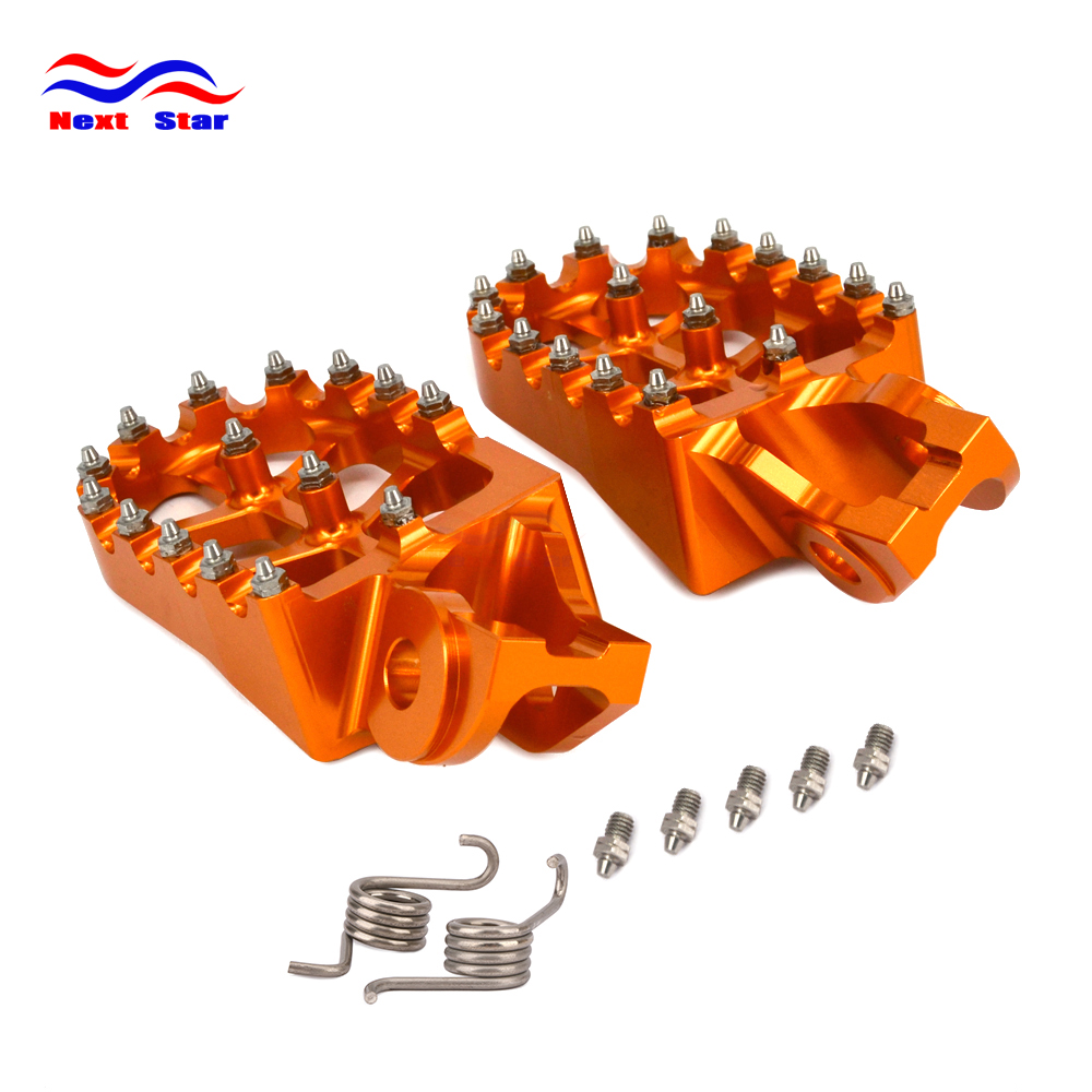 2016 2019 Foot Rests Footrest Footpegs Pegs Pedals For KTM SX125 SX250 SX-F 250-450 EXC EXC-F XC XC-F XC-W TC FC RX FX 125-501