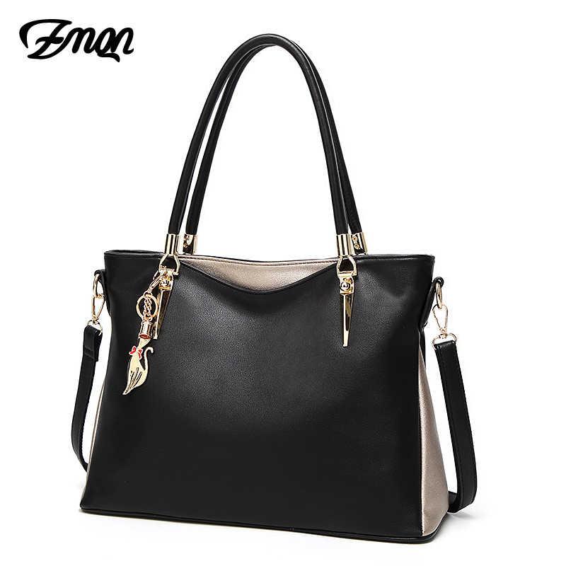 6a4b90170731 ... ZMQN роскошные сумки женские сумки дизайнерские 2018 PU мягкие кожаные  сумки на плечо для женщин известный ...