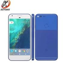 Оригинальный новая версия США Google Pixel XL LTE мобильный телефон 5,5 «4 GB Оперативная память 32/128 GB Встроенная память Snapdragon 820 отпечатков пальцев Android телефона