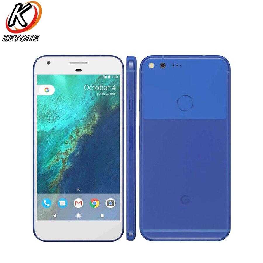 Original Nouveau US Version Google Pixel XL LTE Mobile Téléphone 5.5 4 gb RAM 32/128 gb ROM snapdragon 820 D'empreintes Digitales Android Téléphone Portable