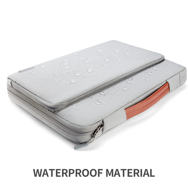 Gray Casual Color Bag Sleeve For Laptop And Macbook Air & Pro 5