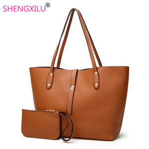 30f6877f65c4 Shengxilu Female Shoulder Bag Ladies Leather Handbags