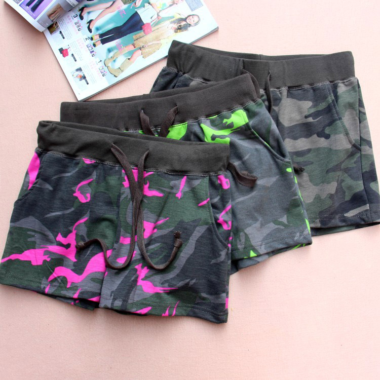 Army Print Shorts Women Promotion-Shop for Promotional Army Print ...