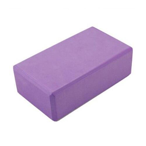 MUMIAN 1 PCS Purple Yoga Block Brick Foaming Foam Block Home Exercise Pilates Tool Stretching Aid