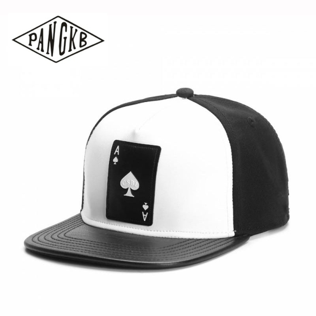 Ace Of Spades Hip Hop Snapback Hat For Unisex Adult Outdoor Casual Baseball Cap