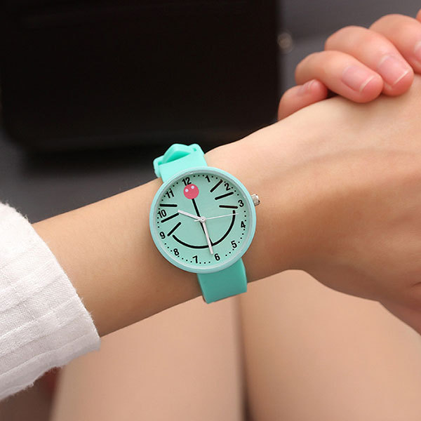 Silicone Watch Children Kids Watches For Girls Boys Students Gifts Quartz Wristw