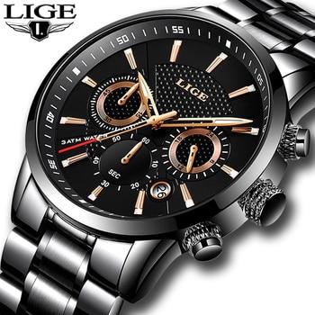 Mens watches To Luxury Brand business Quartz Watch Men Military Sports Waterproof Dress Wrist watch